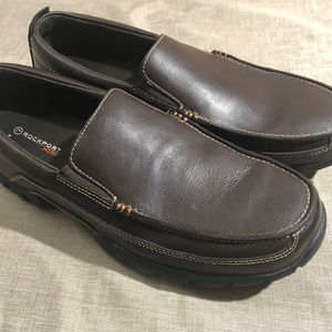 Mens Rockport XCS slip ons , size 11, pre-owned
